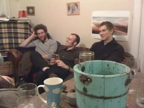 Ben, Geoff, Gav - photo by Andy Barlow